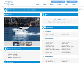 Annonces Yachting